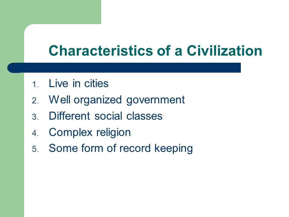 The earliest americans ppt video online download for 6 characteristics of bureaucracy