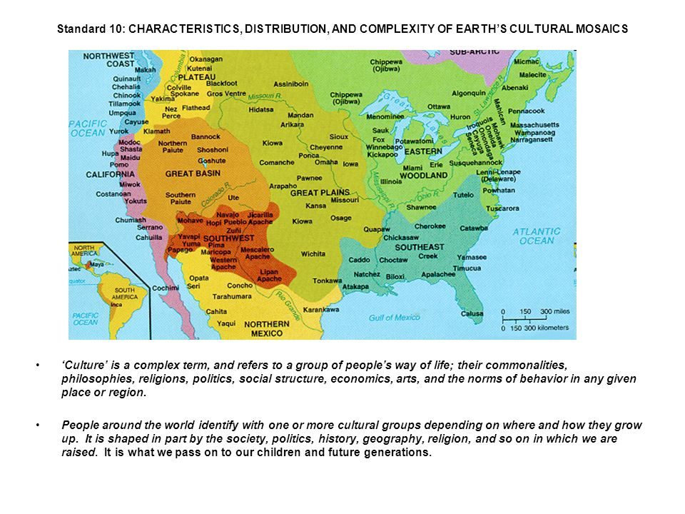 Map of Indian Tribes in the US from ppt download