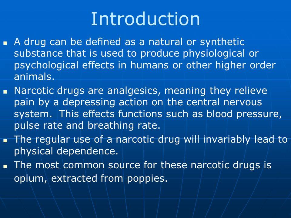 Ten Most Dangerous Drugs