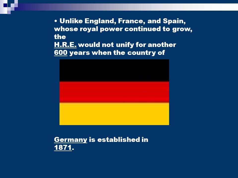 Unlike England, France, and Spain, whose royal power continued to grow, the