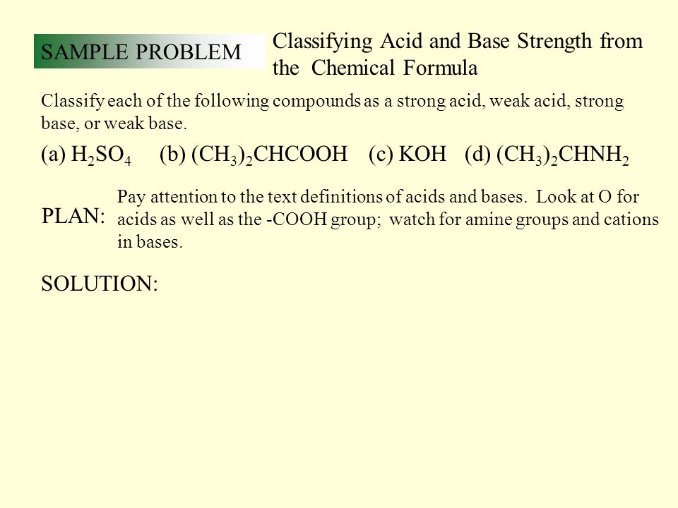Acid and Base Equilibrium - ppt download