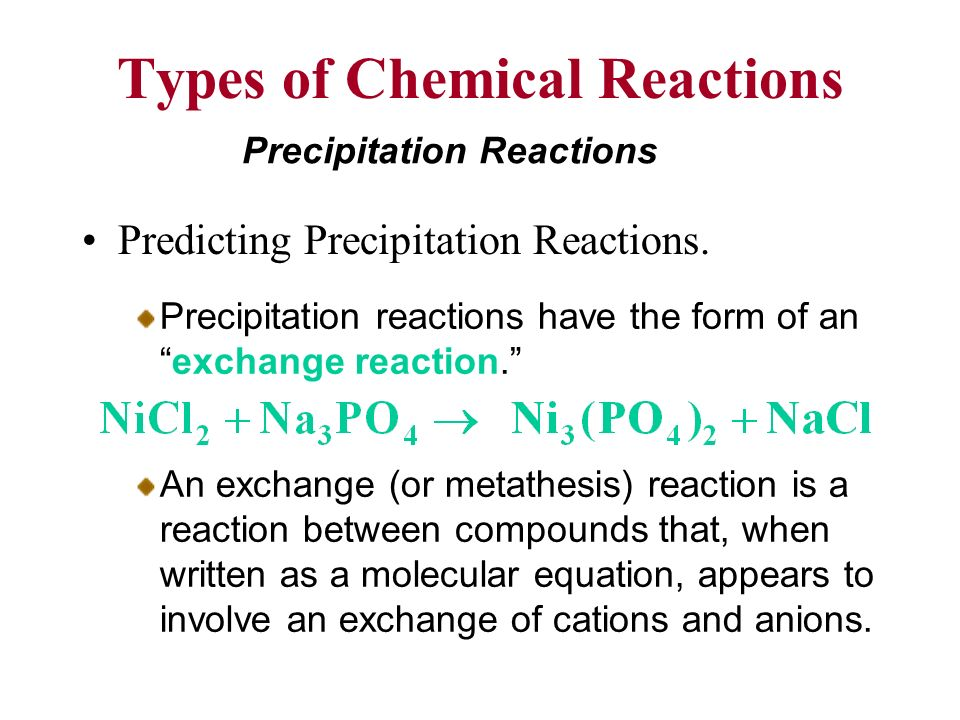 define exchange metathesis reaction Metathesis reactions are the reactions in which two compounds react to form two  new  eg reactions in which the ions of two compounds exchange ions.