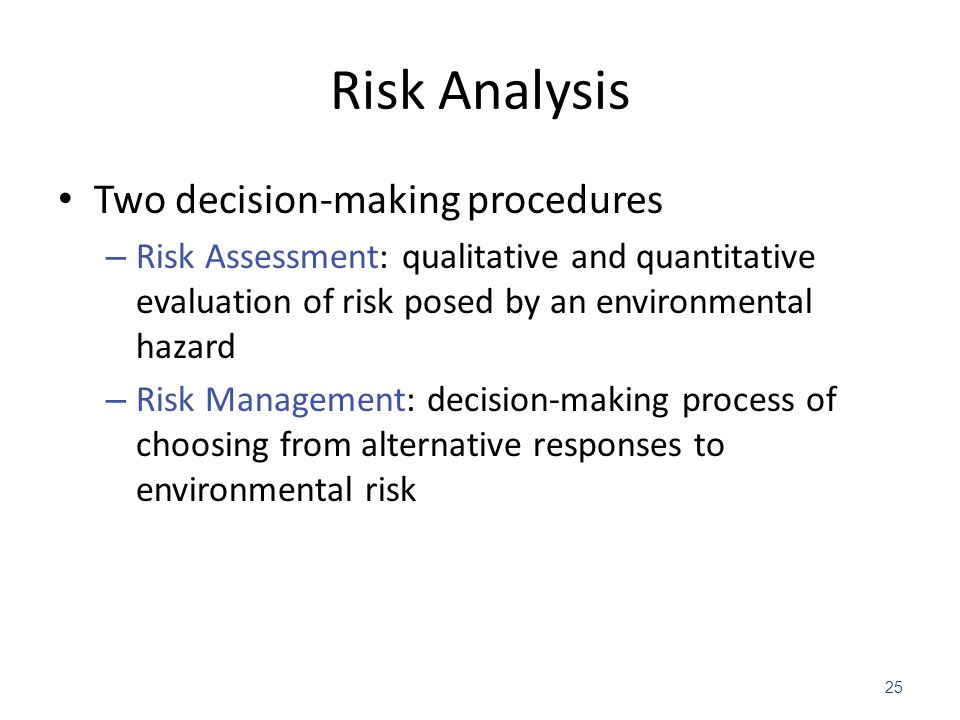 an analysis of the groups of riskier decision makers Unfortunately, the risk inherent in most business decisions is rarely this obvious, and requires an evaluation using one of two methods: evidence-based decision-making vs the good, old-fashioned.