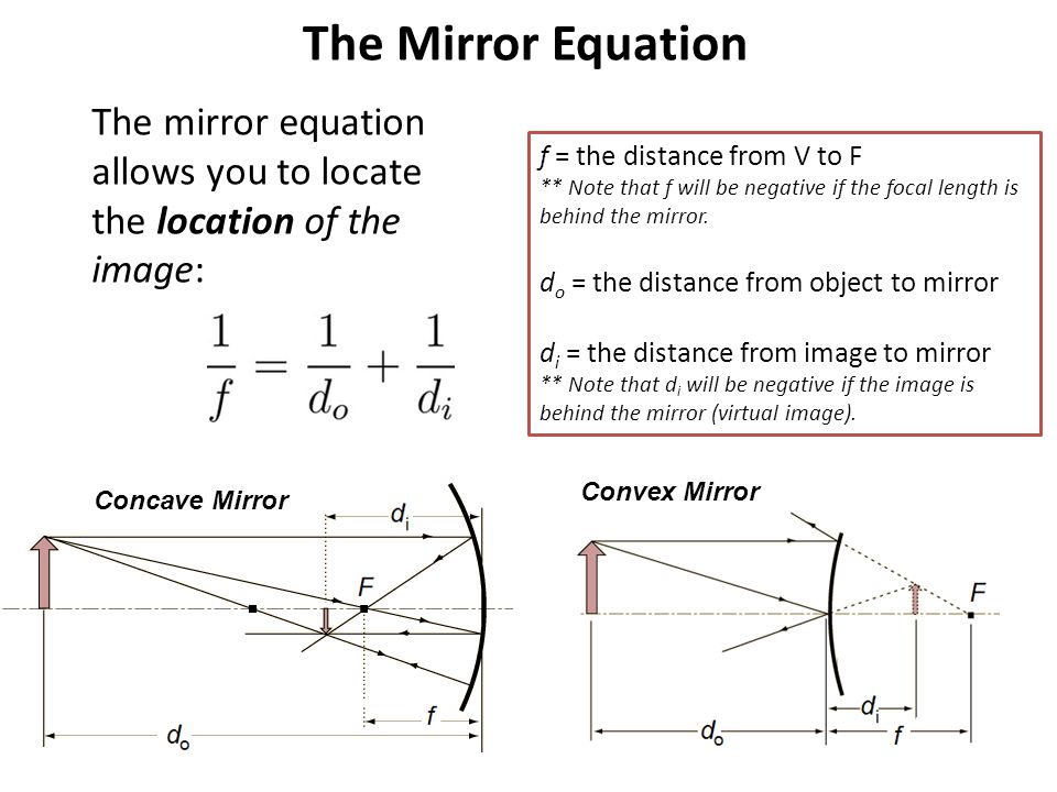 the focal length of a convex Determine focal length of convex mirror using convex lens a physics virtual practical related with optical physics this physics lab practical software contains.