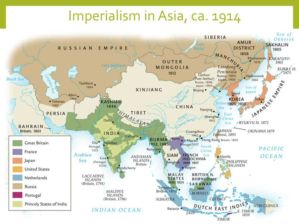 The Building Of Global Empires Ppt Video Online Download - Us imperialism world map caribbean area latin america asia