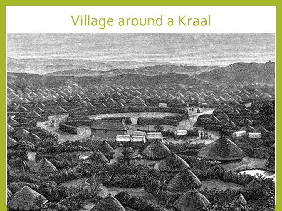 Village around a Kraal