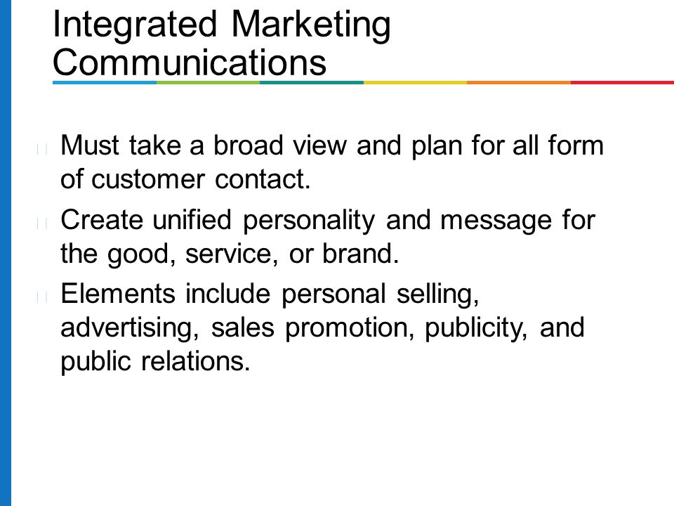 integrated marketing communications advertising sales promotion How to integrate a sales promotion with other marketing communication mixes integrating a sales promotion with other marketing mixes is something that you might do by incorporating e-mail, for.