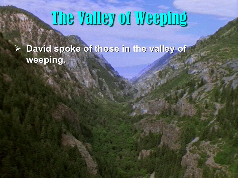 The Valley of Evil and Corruption - ppt video online download