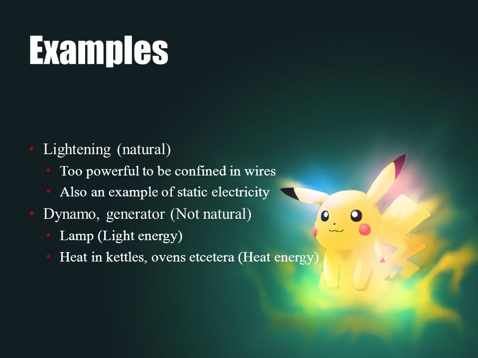 Images Of Electrical Energy Examples Spacehero