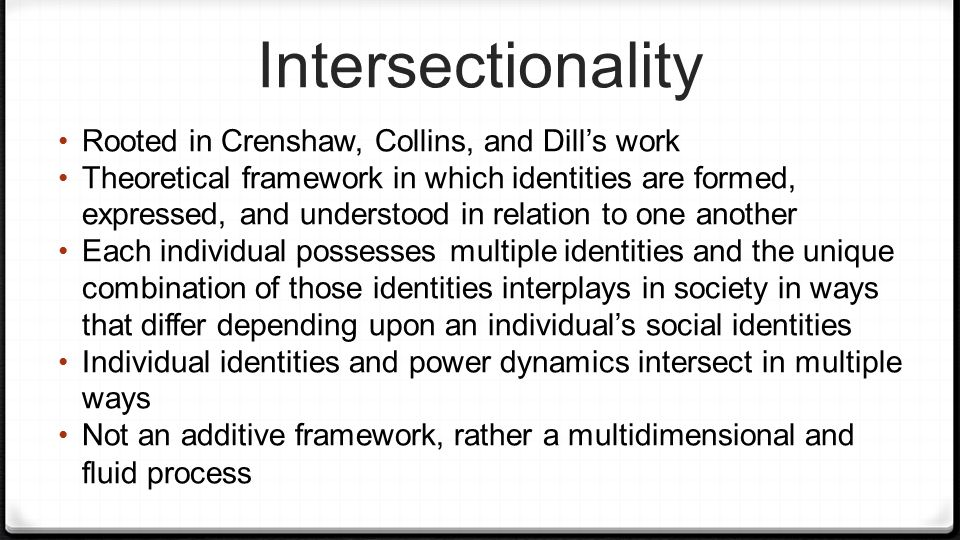 What Is Intersectionality, and Why Is It Important?
