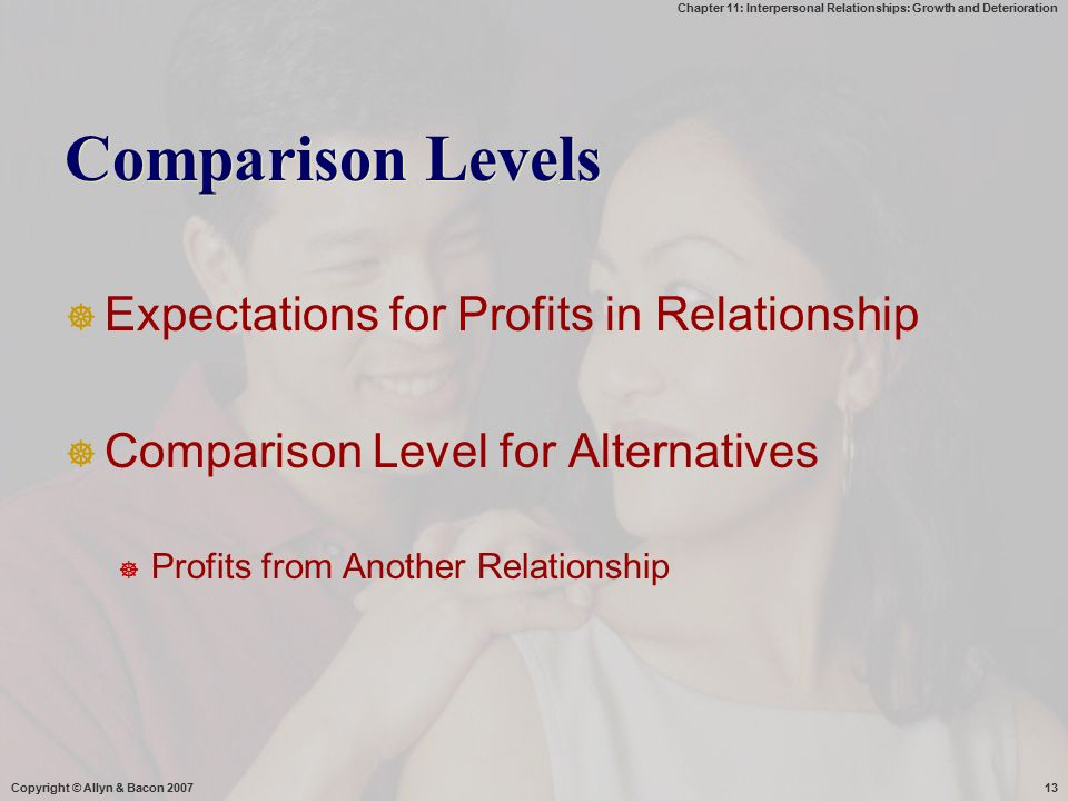 interpersonal relationship growth and deterioration