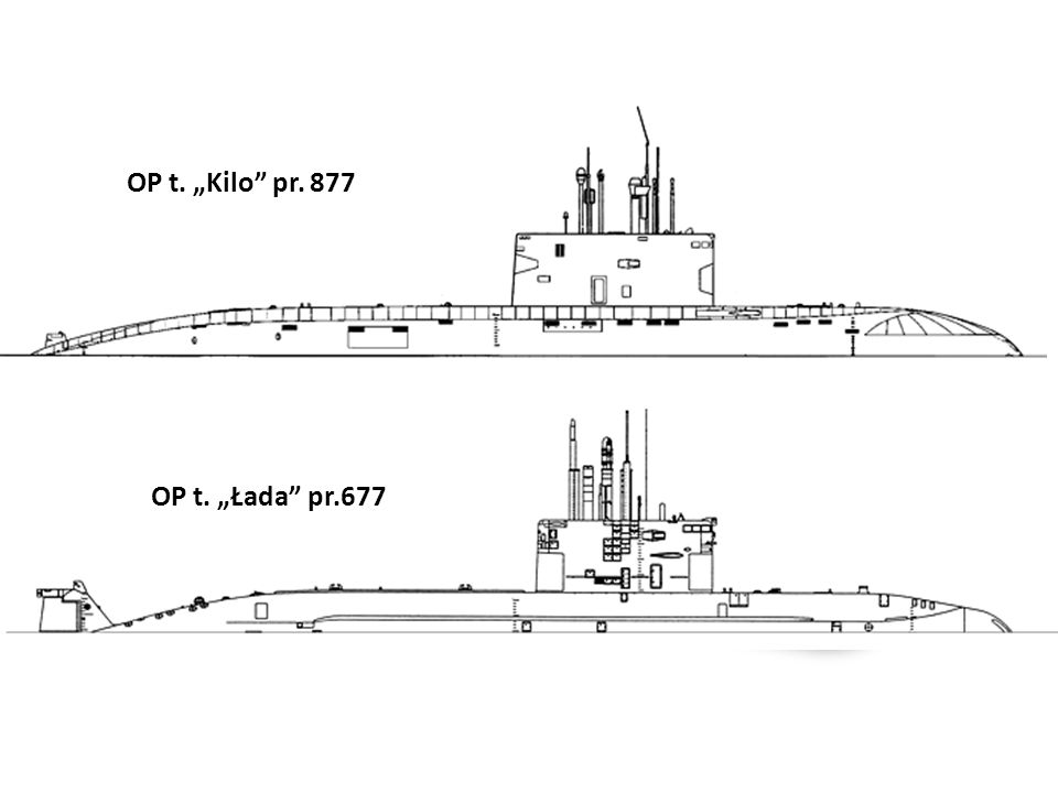 """OP t. """"Kilo pr. 877 OP t. """"Łada pr.677"""