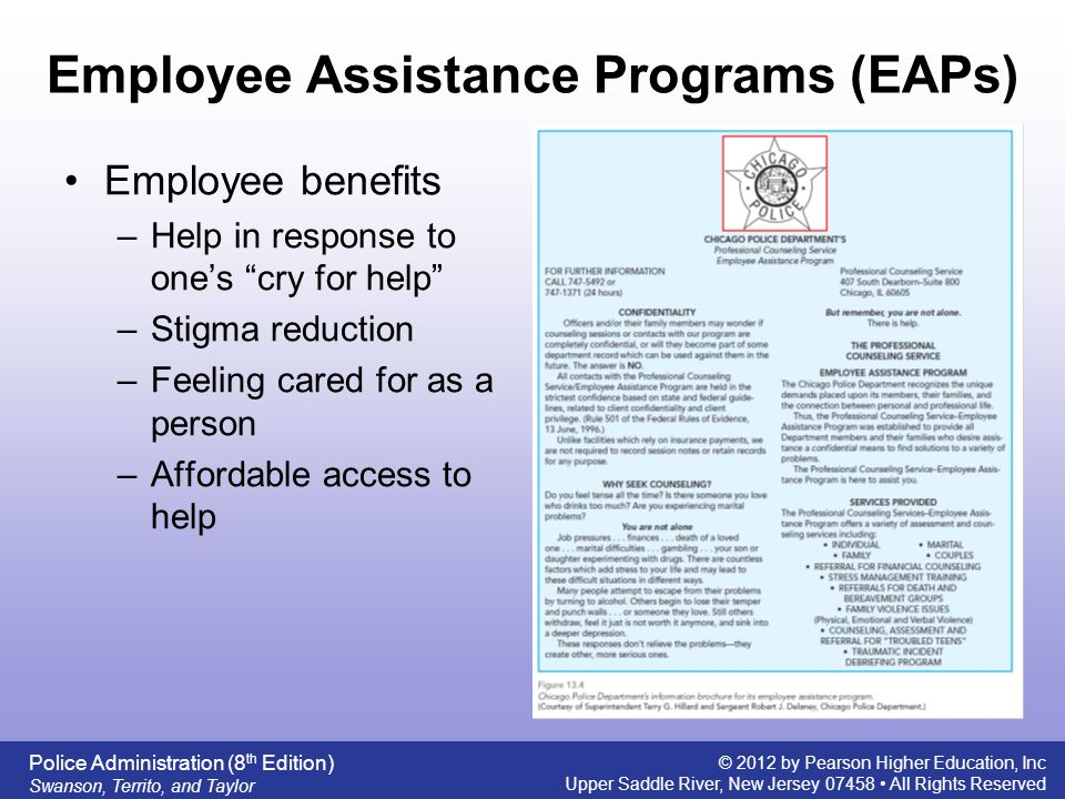 employee assistant program essay The eap can be the place where a grieved employee could approach and seek advice on family issues that nag him or her also find ways to set right their own t.