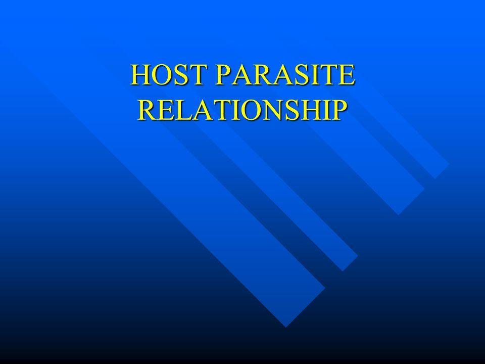 HOST PARASITE RELATIONSHIP - ppt video online download