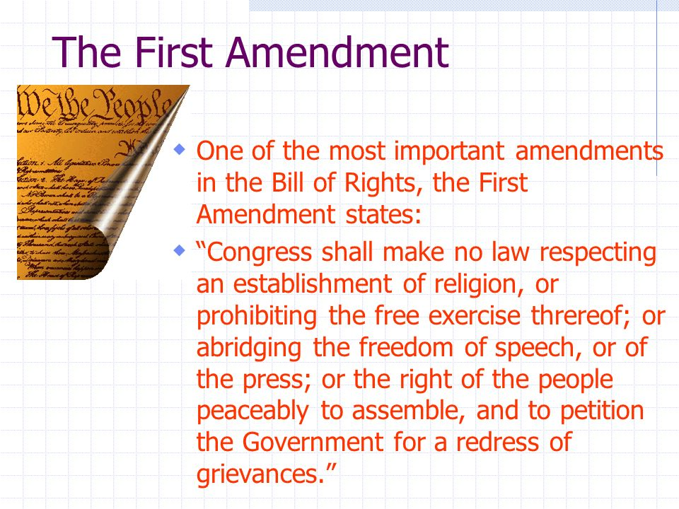 Why Is the Bill of Rights an Important Amendment to the United States Constitution?