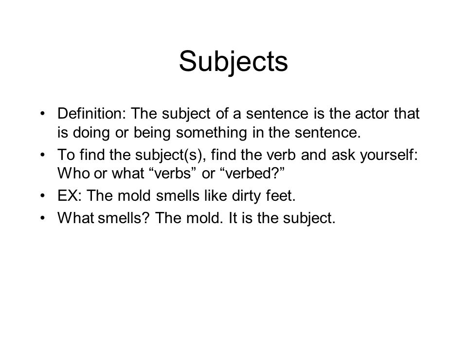 Grammar review march 8 ppt video online download for Musty odor definition