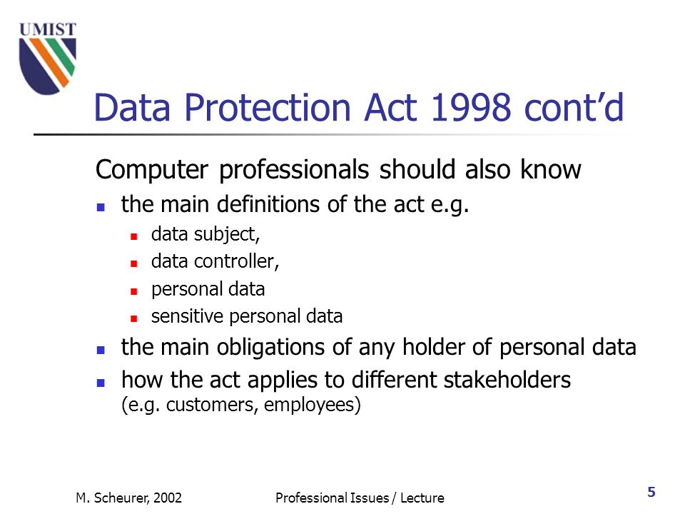 """data protection act 1998 and sense The latter has also created a sense of loss of control over technology and automation of societal processes [1 the government [uk] accepted that all three categories are """"personal data"""" within the meaning of the data protection act 1998 in the hands of those who are able to identify the individual"""" [53."""