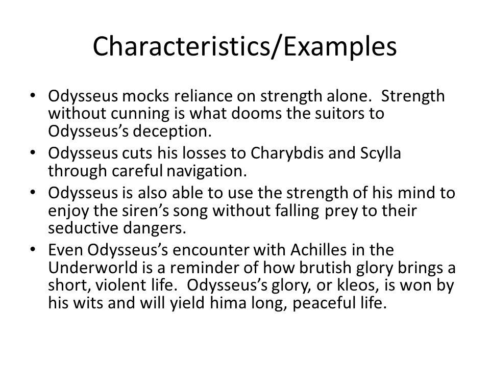 odysseus traits