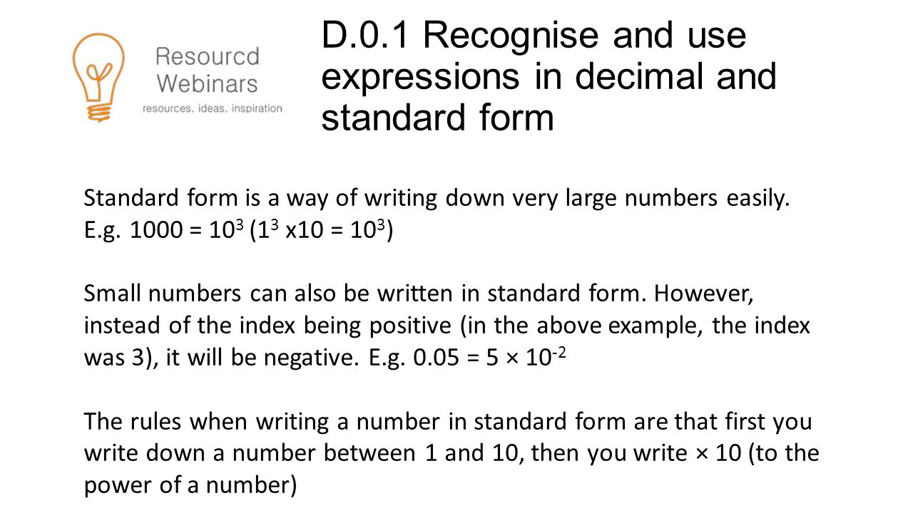 Mathematical requirements in the new 2015 a level psychology ppt d01 recognise and use expressions in decimal and standard form falaconquin