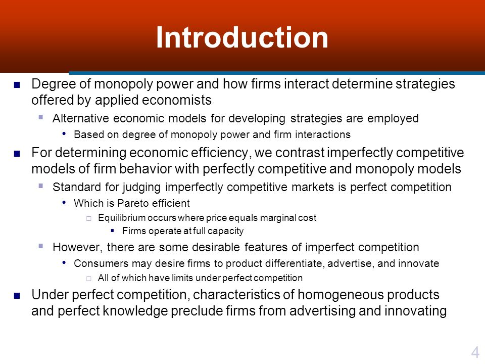 an introduction to the competitive market and monopoly of standard oil An introduction to the competitive market and monopoly of standard oil pages 2 words 1,092 view full essay more essays like this: competitive market, monopoly.