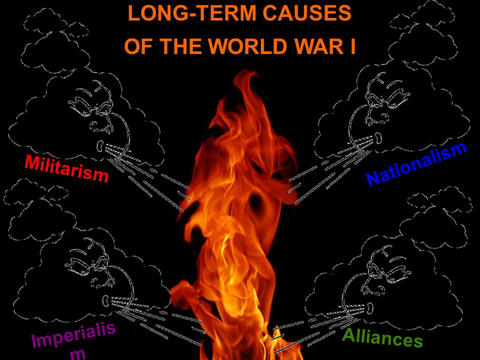 long and short term causes of wwi essay While the immediate cause of world war i was the assassination of francis  ferdinand, the archduke of  click the button above to view the complete essay,  speech, term paper, or research paper  there were long and short term causes.