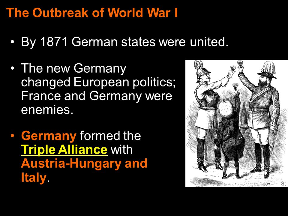outbreak of world war i who
