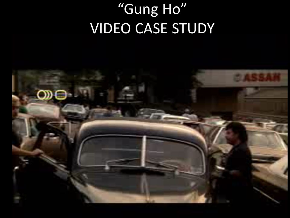 analysis of movie gung ho When veteran screenwriter edwin blum watched a 60 minutes segment on the opening of a nissan plant in smyrna, tenn, he saw in it the possibility for a comedy centering on an east-west culture clash from this idea blossomed ron howard's gung ho (citywide), which has all the vitality but little of.