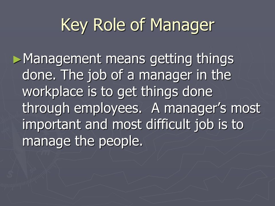 the roles of managers and individuals Implementation guide for hr managers approaching conversations about   the aps - an employer of choice for people with disability the role of disability .