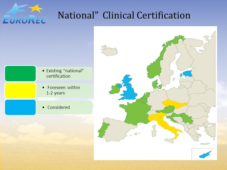 National Clinical Certification