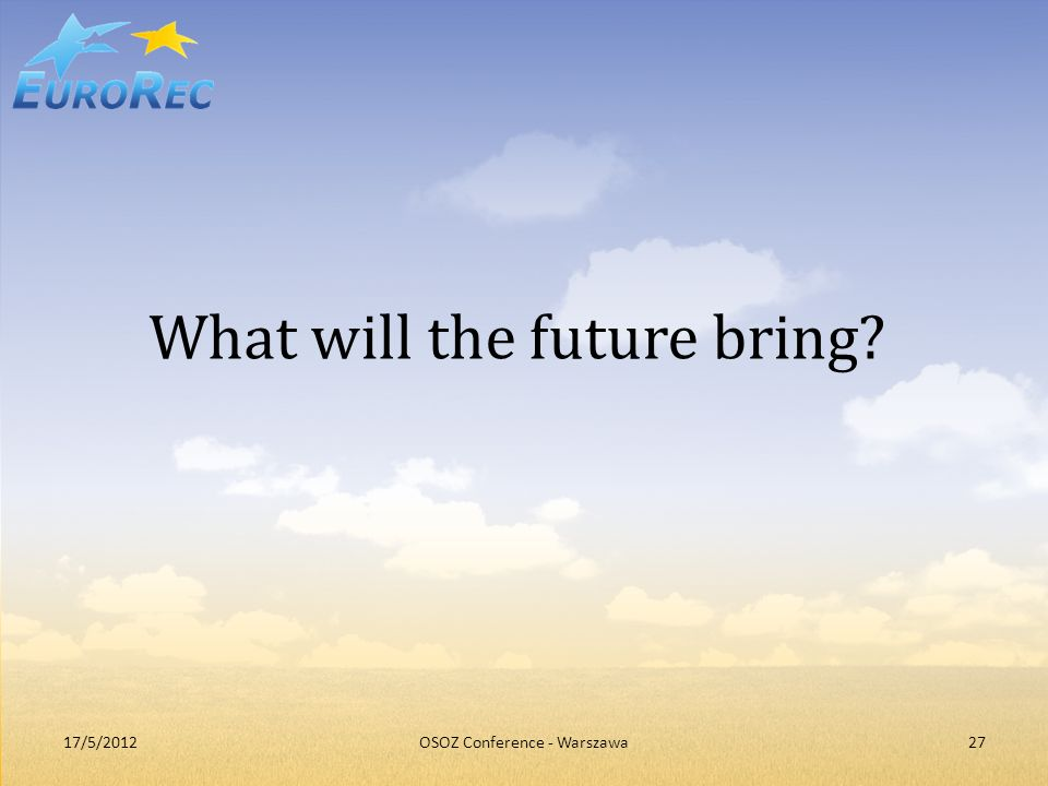 What will the future bring