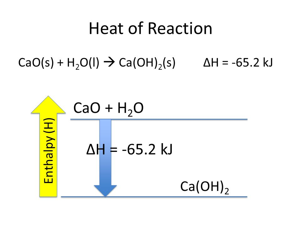 Thermochemistry ppt video online download for Chemistry reaction calculator fort de france
