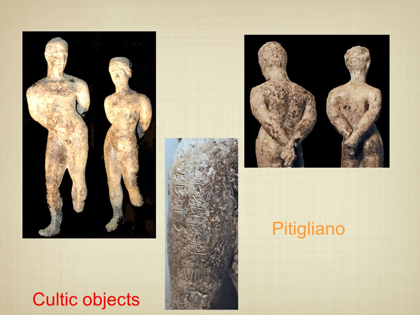 Pitigliano Cultic objects