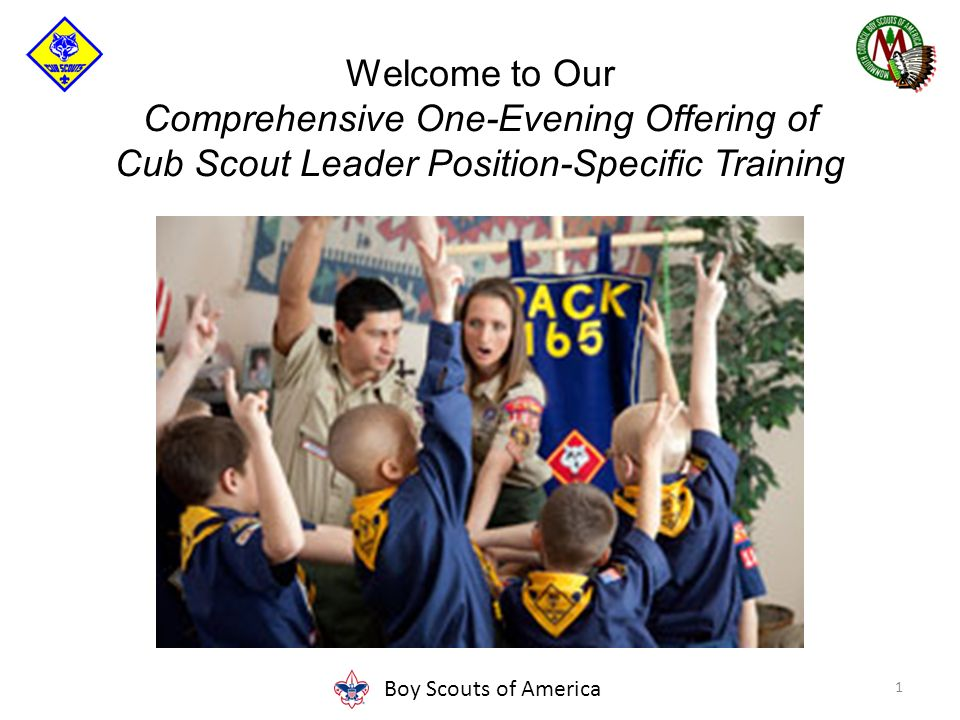 Cub Scout Leader Position Specific Training