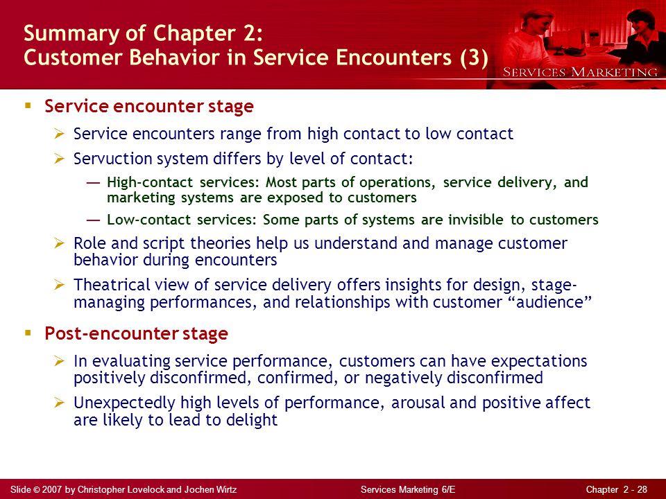 chapter 2 customer behavior in service encounters ppt. Black Bedroom Furniture Sets. Home Design Ideas