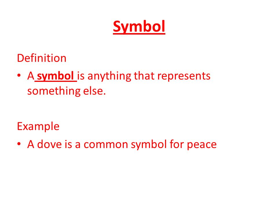 What Is The Definition Of Symbol In Poetry Gallery Meaning Of This