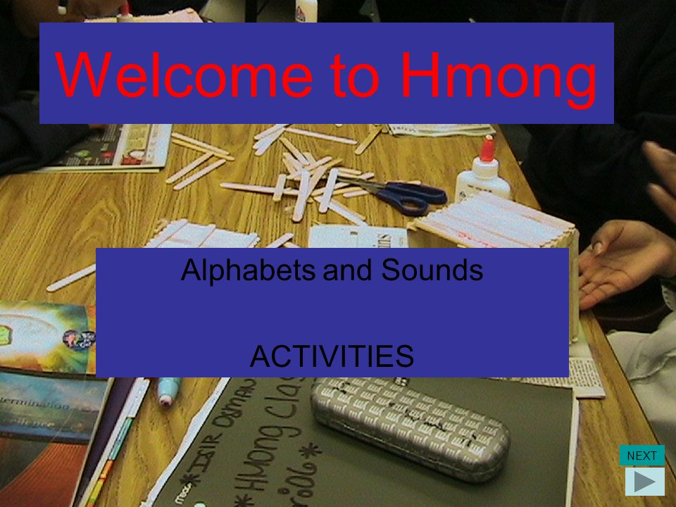 Alphabets and Sounds ACTIVITIES