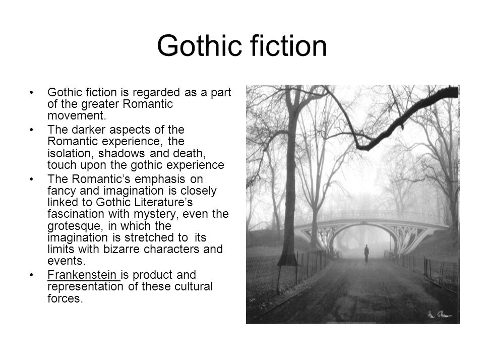 Frankenstein gothic genre essay