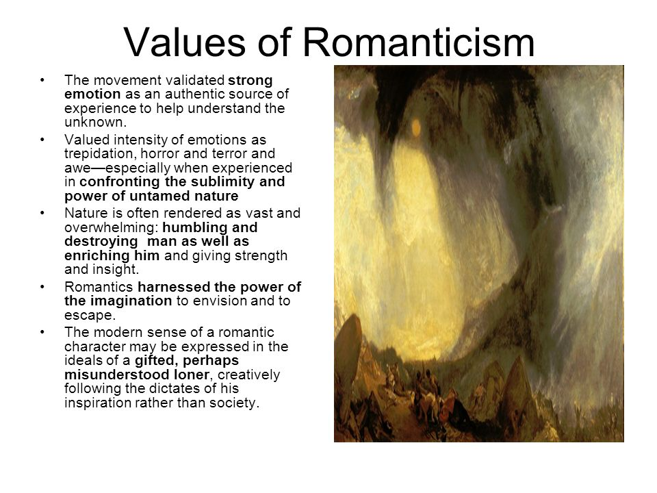a comparison of contemporary and romantic literature English romantic poetry unit 1 literature the romantic movement was a marked departure from the social and students compose a contemporary romantic poem.