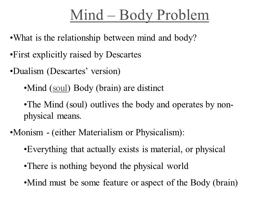 mind-brain correlation thesis Essay the mind-brain problem john beloff department of psycho log^, george square, university of edinburgh, edinburgh eh8 9jz, scotland  relationship between events in the brain and those private, subjective, intro-  allelist thesis, however, is that it is by no means clear that the series of mental.
