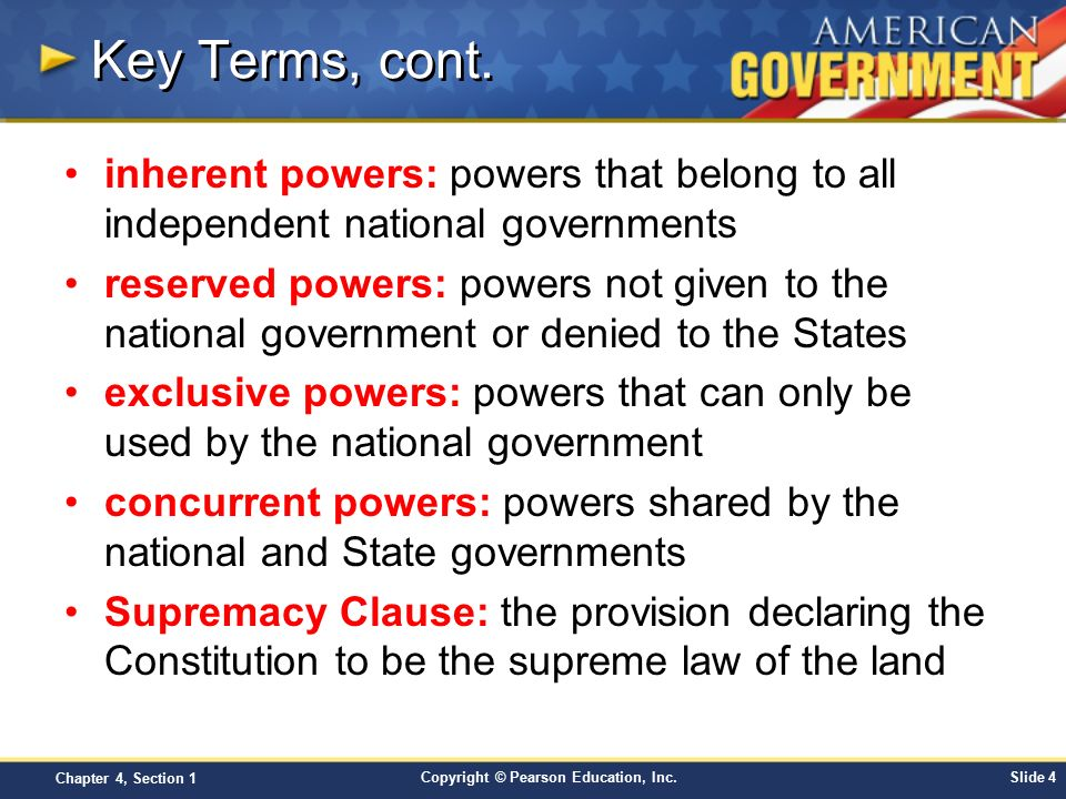 inherent powers of the state Police power is an inherent attribute of sovereignty it can exist even without reservation in the constitution it is based on necessity as without it, there can be no effective government.