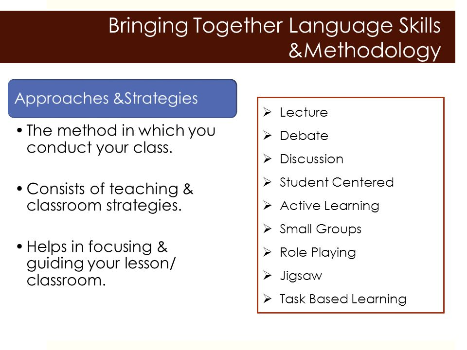 Language Learning Strategies: An Overview for L2 Teachers