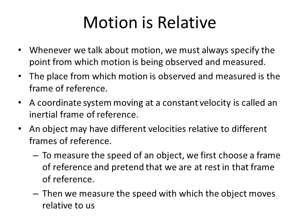 Awesome What Is A Frame Of Reference Physics Pattern - Ideas de ...