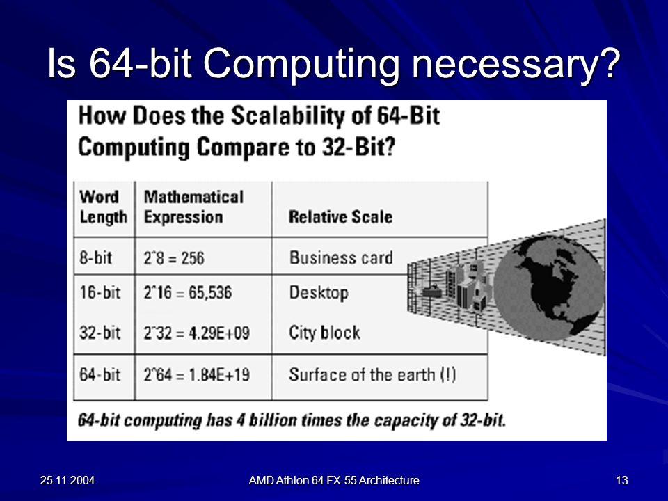 Is 64-bit Computing necessary