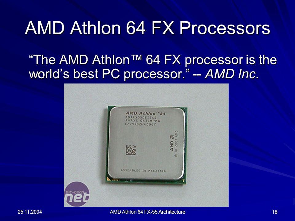 AMD Athlon 64 FX Processors