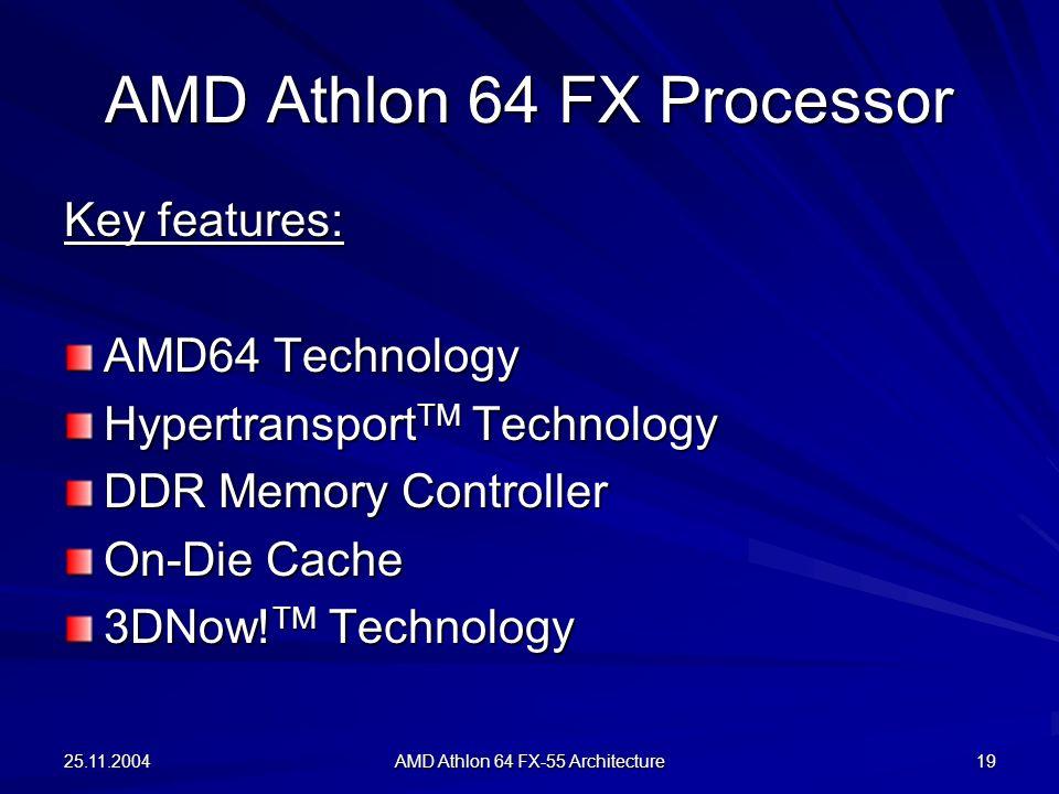 AMD Athlon 64 FX Processor