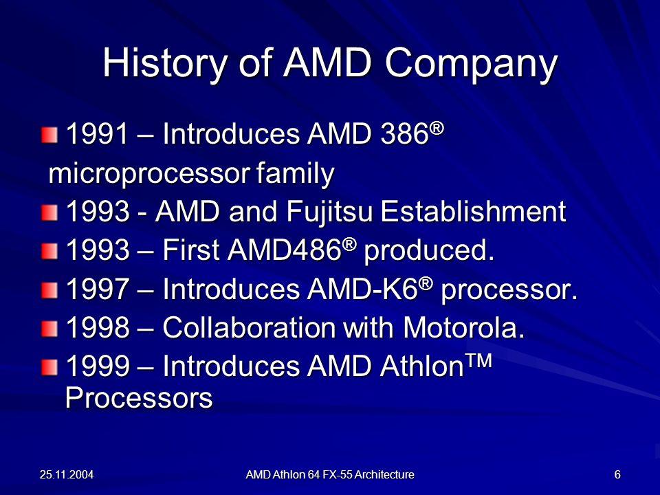 AMD Athlon 64 FX-55 Architecture