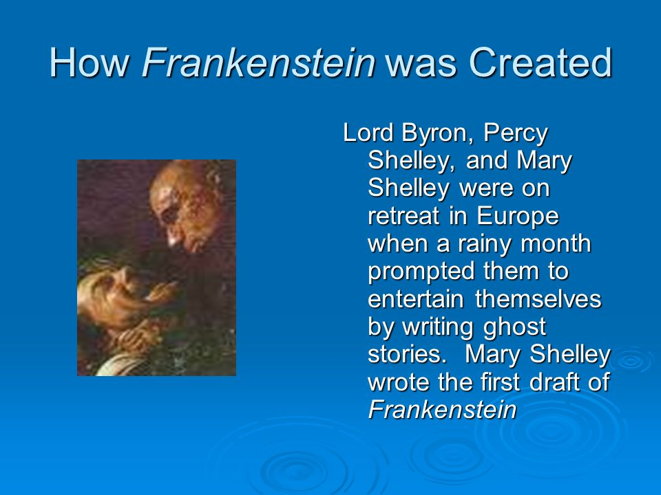 the use of gothic elements in frankenstein by mary shelley Frankenstein by mary shelley is a perfect combination of goth and  creation  and she uses the supernatural aspect of raising the dead to give.