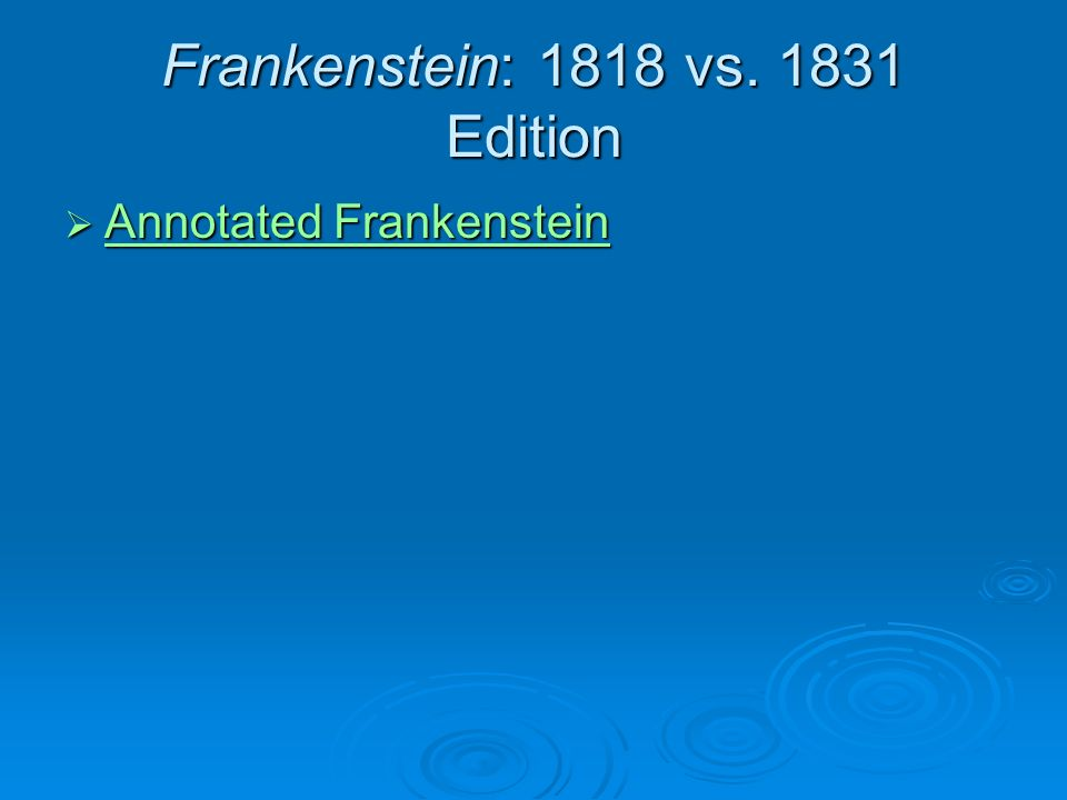 Frankenstein Essay: Good vs. Evil
