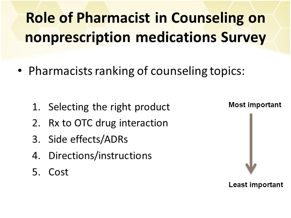 the role of pharmacists The changing role of pharmacy: from supporting role to strategic contributor.