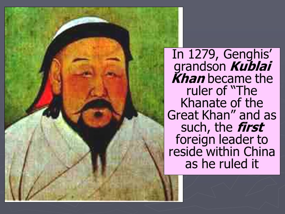 an overview of the great leader genghis khan The mongols created the greatest landlocked empire known to history it was an   initially an insignificant tribal leader, genghis khan gradually increased his  power, overcoming one rival after another  be the first to review this product.